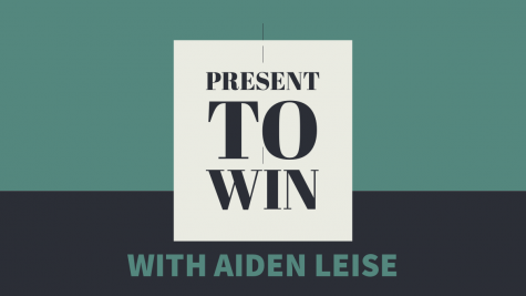 Present to Win: Aiden Leise and Dr. Thomas Easterling