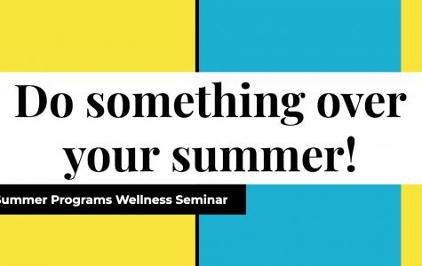 Summer programs seminar helps juniors plan for 2020