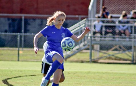 Taylor Willis started playing soccer when she was only four years old.