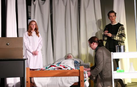Dramatic performance students return to the stage with 'The Patient'