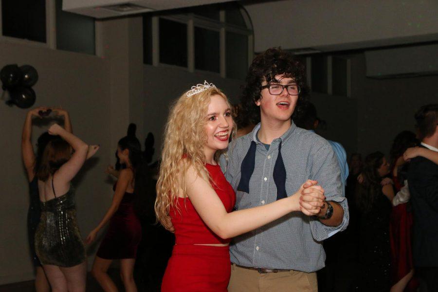 Winter Formal Princess Gracie Rowland and Prince Zach Medlin