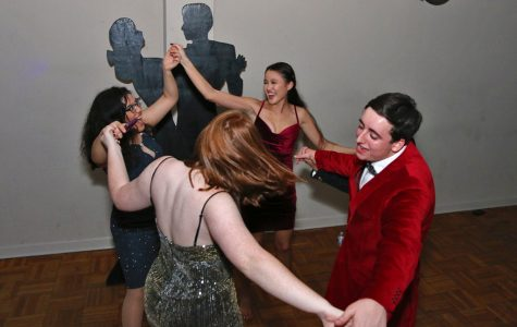 Students tear up the dance floor at Winter Formal