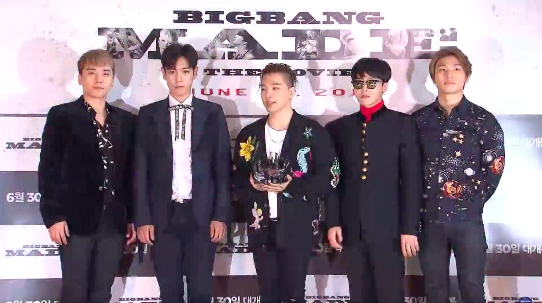 BigBang has come back into the limelight with a bang.