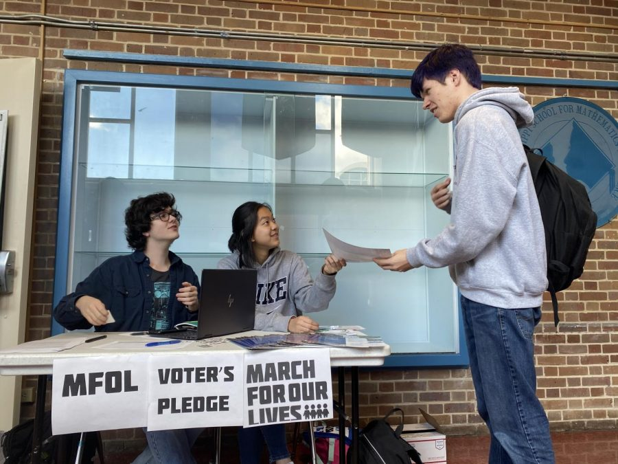 March for Our Lives hosts voter pledge drive