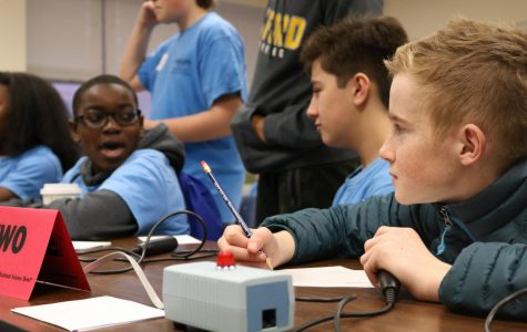 Middle school students from across the state competed in the competition.