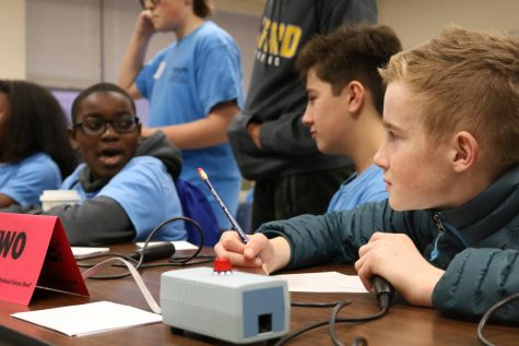 MSMS hosts annual Middle School Science Bowl