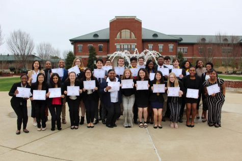 Juniors Inducted, Charged at MSMS Ceremony of Lights