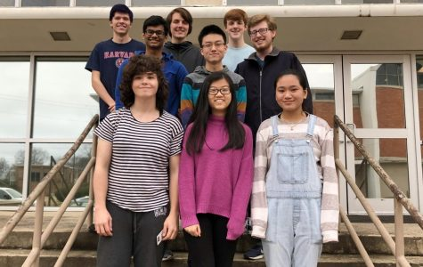 Nine MSMS students qualified for this year's international Mathematical Modeling Challenge.