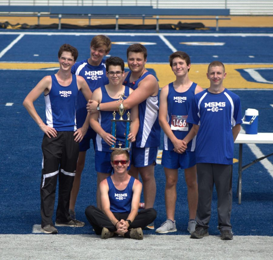 Track team's late start is still filled with hope
