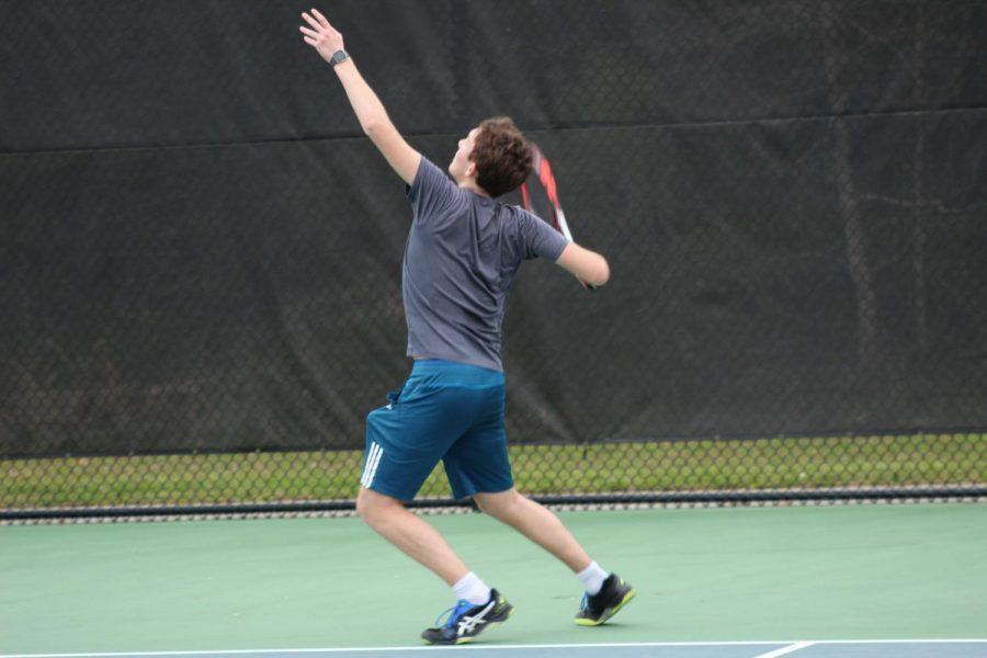 The MSMS tennis team kicks off their season with a match against Wayne County.