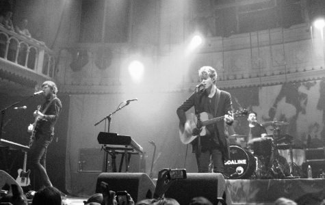 Kodaline performing two years after their first album release,