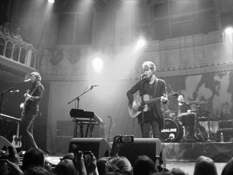 "Kodaline performing two years after their first album release, ""In a Perfect World."""