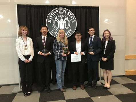 Students compete at regional science fairs