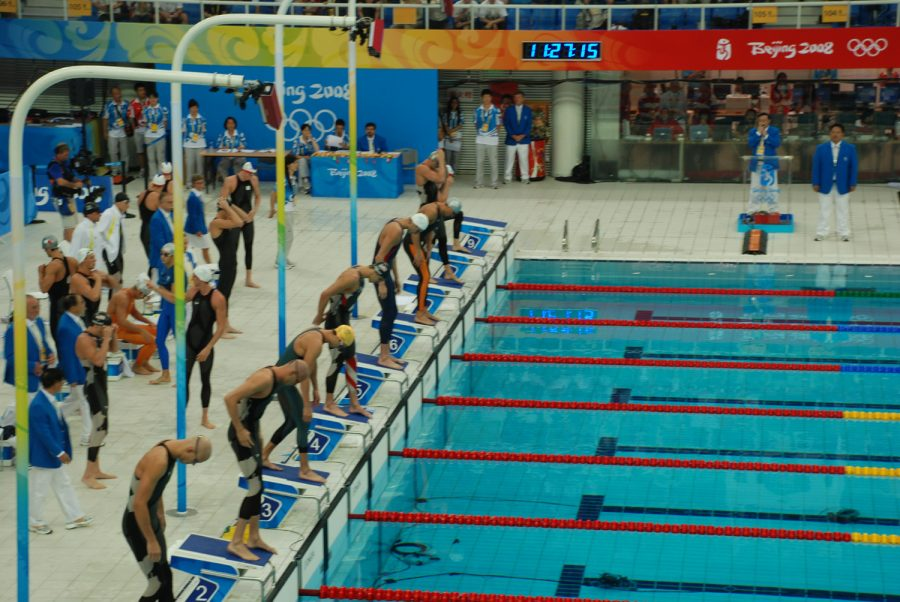 Swimming is one sport that will be very hard to continue while the pandemic is still occuring.