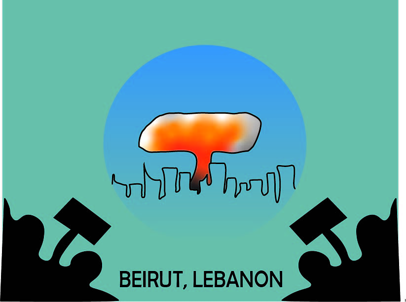Following an explosion in Beirut, the Lebanese government stepped down.