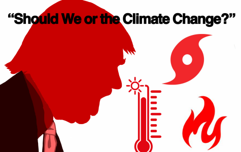 President Trump has disagreed with the severity of climate change during his time in office.