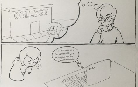 Many seniors had plans to look at colleges over the summer before COVID-19 happened.
