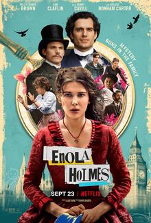 """Enola Holmes"" tells the story of Sherlock Holmes"