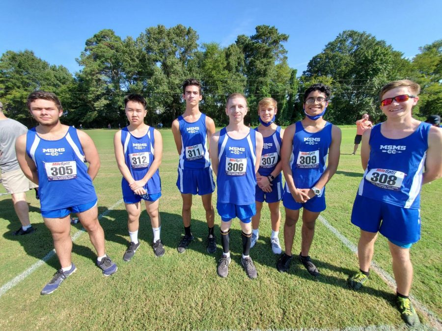 MSMS's cross country team has already started competing this year.