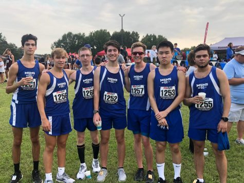 The MSMS Cross Country team ran their second meet of the season in Saltillo.