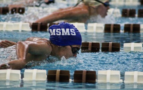 Initially, the swim season was canceled, but now students have the opportunity to compete.