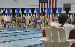 Despite being momentarily cancelled at MSMS, the swim team had their first meet on Monday, Sept. 22.