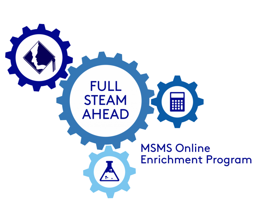 MSMS%27s+Outreach+students+help+make+activities+for+MSMS%27s+new+enrichment+program.+