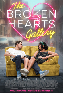 "Produced by Selena Gomez, ""The Broken Hearts Gallery"" tells the story of a young girl who searches for love in New York City."