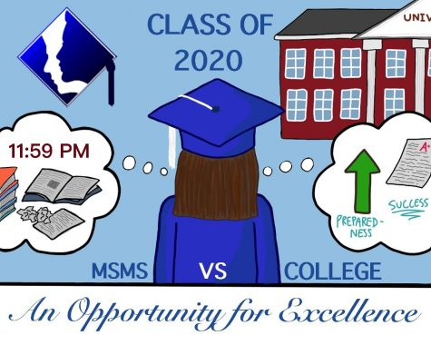 Often students come to MSMS to better prepare themselves for college.
