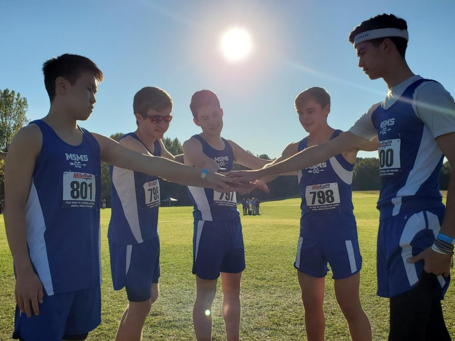 With the season coming to a close, the boys' cross country team had four runners place in the top 50 and came in fifth place overall.