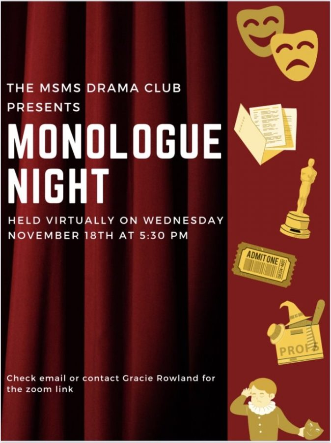 Drama Club hosts Monologue Night
