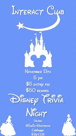 MSMS Interact Club hosted a virtual Disney Trivia Night this past week. All proceeds went towards purchasing lavender seeds in hopes of raising the bee population on the MSMS campus.