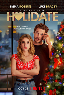 "Released Oct. 28, Netflix starts off its wave of holiday movies early with ""Holidate."""