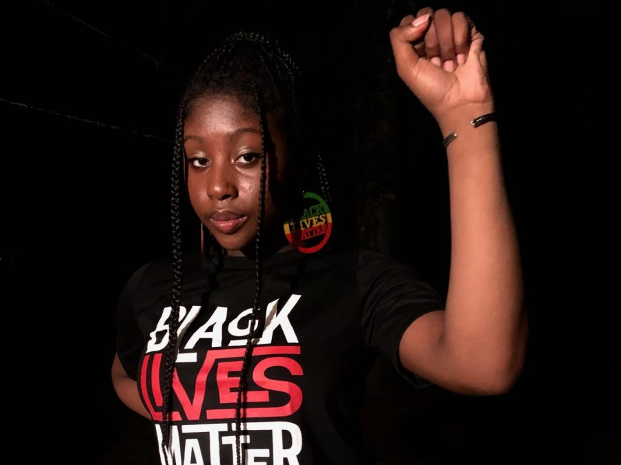 Having+lived+in+Mississippi+her+whole+life%2C+senior+Niyah+Lockett+shares+her+passion+for+the+Black+Lives+Matter+movement.+