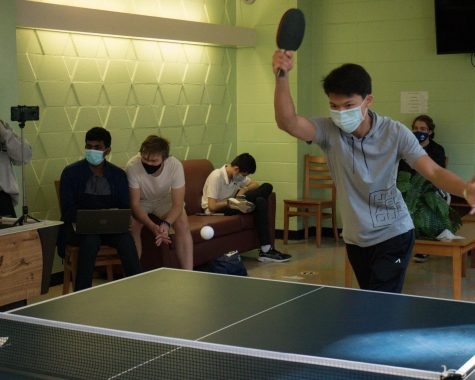 MSMS juniors host Ping Pong Tournament on Halloween