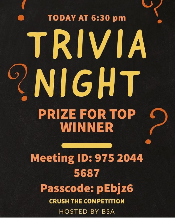Black Student Alliance hosts 'Black Trivia Night'