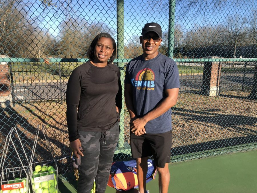 With 15 years of coaching experience, Troy and Tonya King are hoping to lead the MSMS tennis team to victory.
