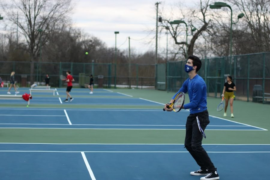 MSMS's tennis team started their season with a win against Columbus High.