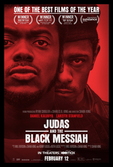 Judas and the Black Messiah tells the story of the betrayal between members in the Black Panther Party in 1960's Chicago.