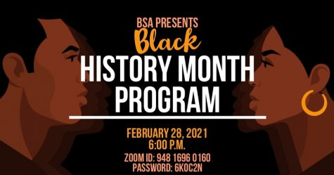 The Black History Month Program marked the end of Black History Month.