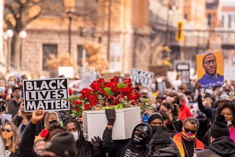 Protests erupted in Minneapolis after Derek Chauvin and other police officers were found responsible for George Floyd