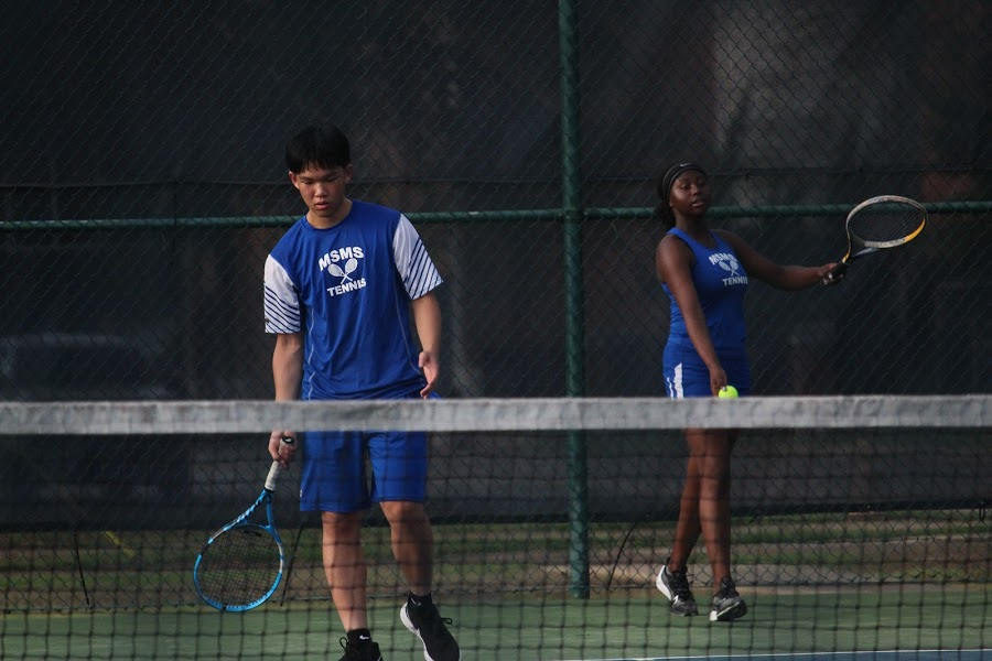 Historic week for MSMS tennis team