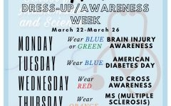 MSMS's Future Physicians of America (FPA) kicked off fourth quarter with themed dress-up days for students to educate themselves and others on various health conditions.