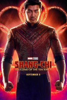 Simu Liu portrays the superhero Shang-Chi alongside other accomplished actors,  such as Awkwafina and Ronny Chieng, in Marvel