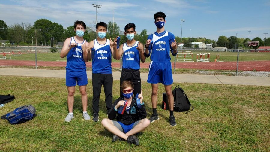 MSMS Track and Field team advances to State