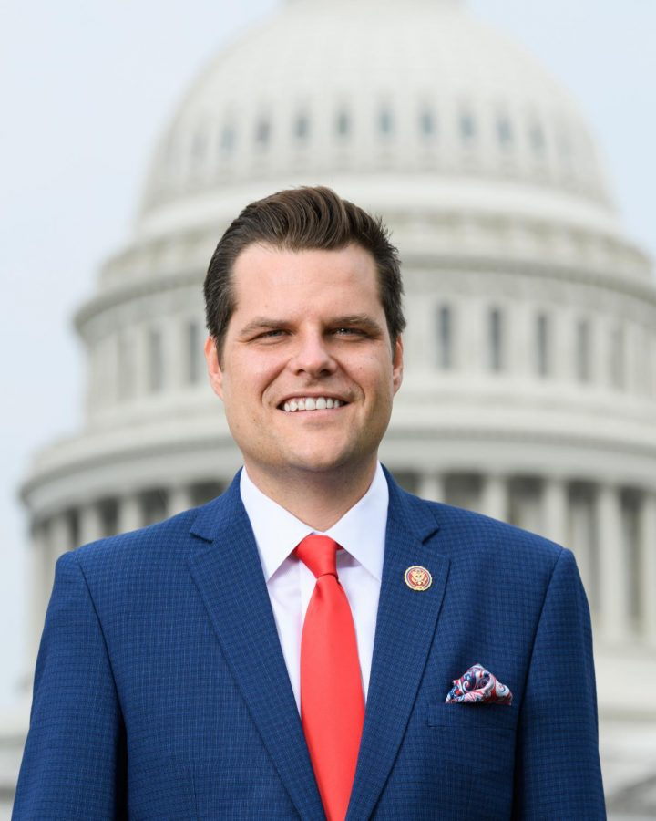Florida+House+Representative+Matt+Gaetz+is+being+investigated+for+alleged+sex+trafficking+and+sexual+relationships+with+a+minor.