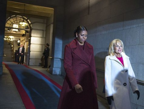 Michelle Obama (left) and Dr. Jill Biden (right) are both heavily criticized for their appearance.