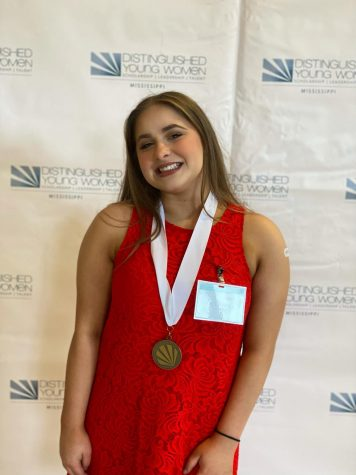 Cadi Pannell, MSMS senior, represents Lee County as a Distinguished Young Woman.