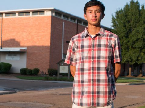 Senior Nicholas Djedjos talks about his interests and discovering MSMS.