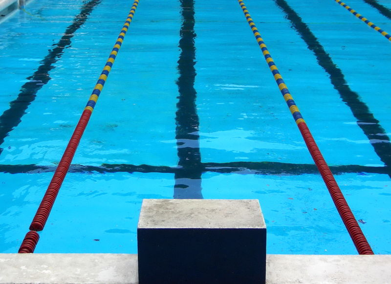 MSMS swim team dives in for first practice